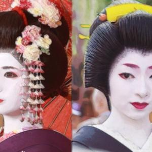 舞妓と芸子(芸妓・芸者)の違いとは?年齢・お給料・髪型・着物は?