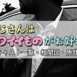 『おじさんはカワイイものがお好き』キャスト・相関図・原作!