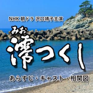 『澪つくし(沢口靖子)』のあらすじネタバレ・キャスト・相関図