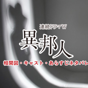 異邦人(いりびと)相関図キャスト!原田マハ原作WOWOWドラマ